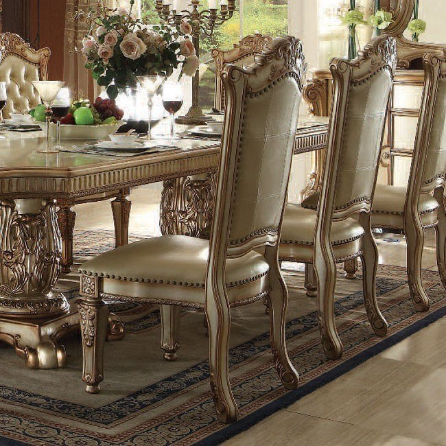 Vendome Side Chair (Gold Patina) (Set of 2)