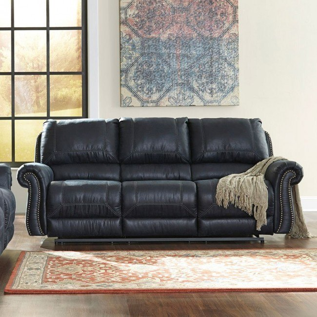 Groovy Milhaven Navy Reclining Sofa Ibusinesslaw Wood Chair Design Ideas Ibusinesslaworg