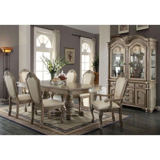 Chateau de Ville Dining Room Set (Antique White)