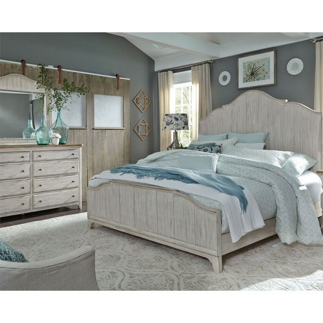 Farmhouse Reimagined Panel Bedroom Set