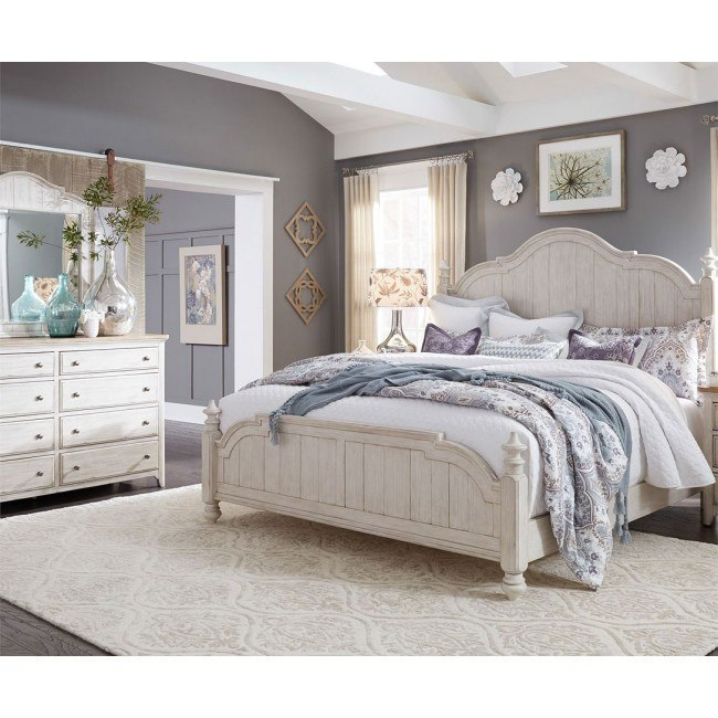Farmhouse Reimagined Poster Bedroom Set