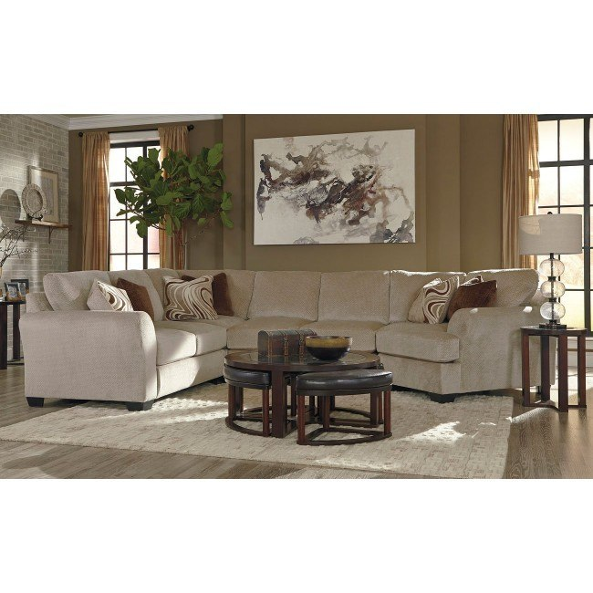 Hazes Fleece Modular Sectional