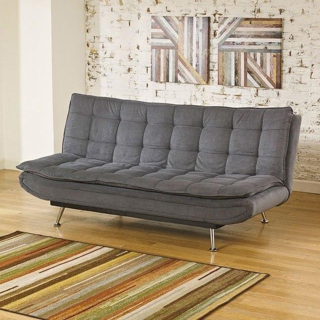 Merveilleux Sula Charcoal Flip Flop Sofa