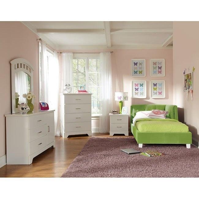 Free 2 B Lite Bedroom Set w/ Green Corner Daybed by Standard ...