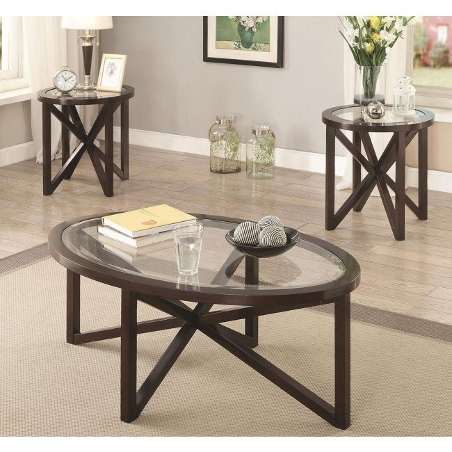 Asterisk 3-Piece Occasional Table Set