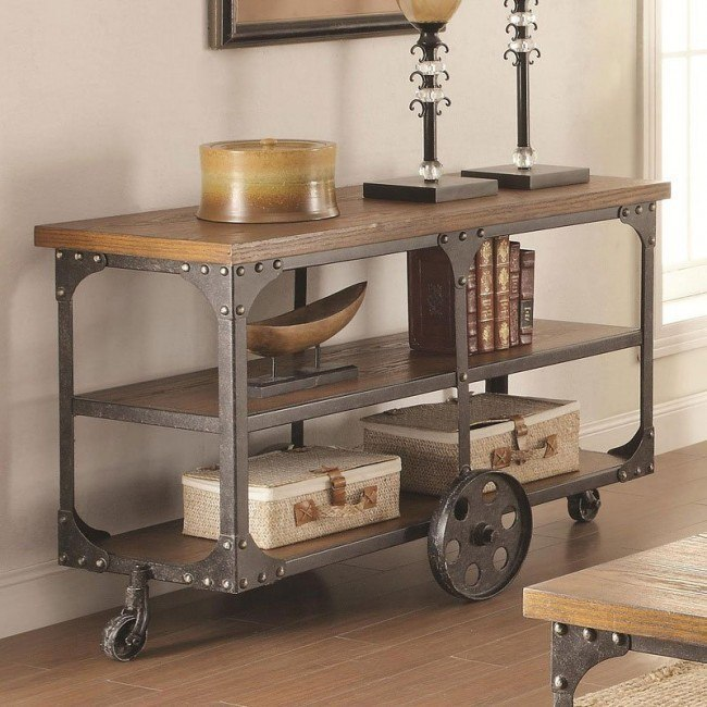 Industrial Sofa Table By Coaster Furniture 1 Review S