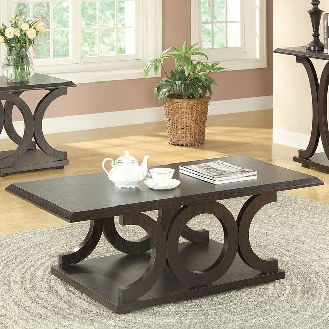 C-Shaped Coffee Table