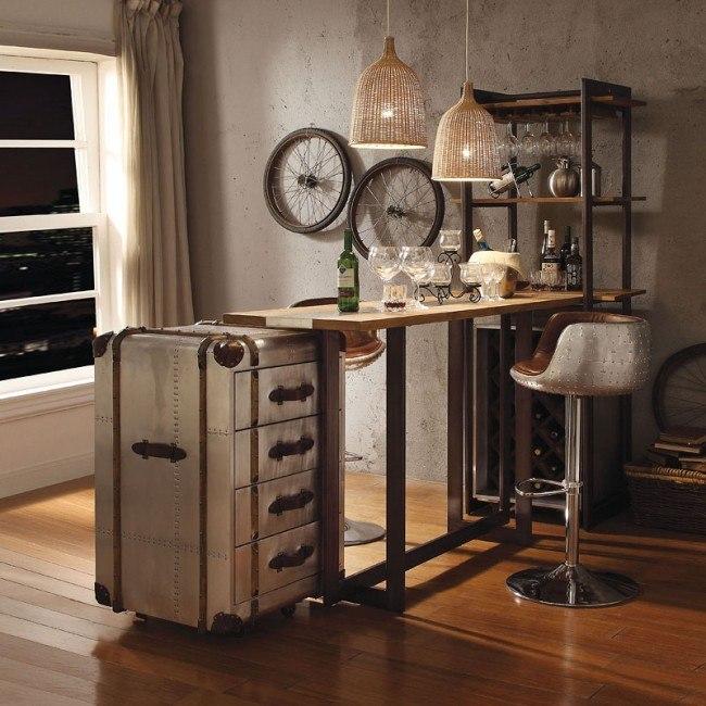 Brancaster 4-Piece Bar Table Set