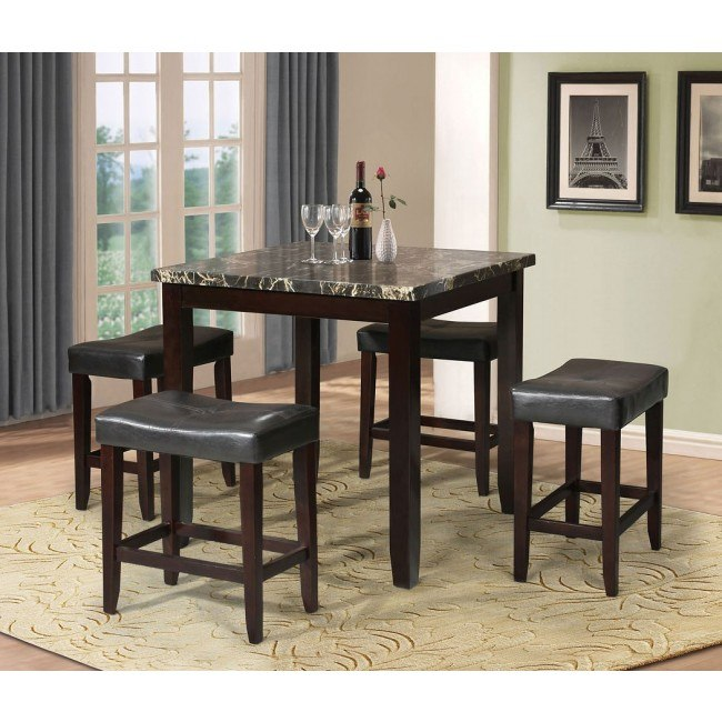 Ainsley 5-Piece Counter Height Dining Room Set