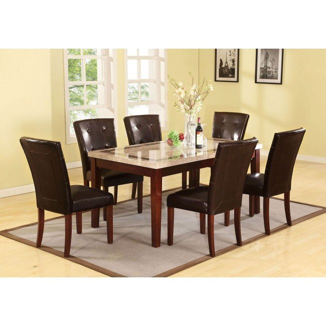 Earline Dining Room Set w/ Forbes Chairs