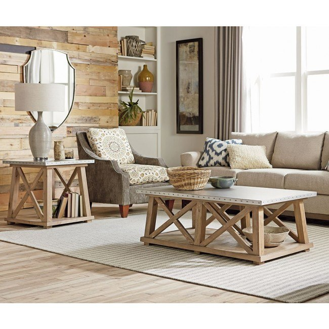 Junction Truss Occasional Table Set