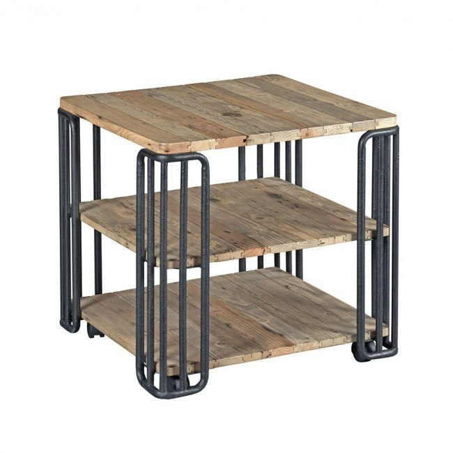 Junction Plank End Table