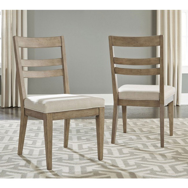 Bridgewater Slat Back Side Chair (Set of 2)