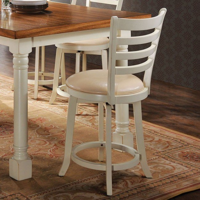Wilton Counter Height Swivel Chair (Set of 2)