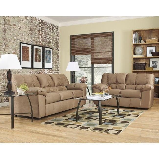Dominator Mocha Living Room Set