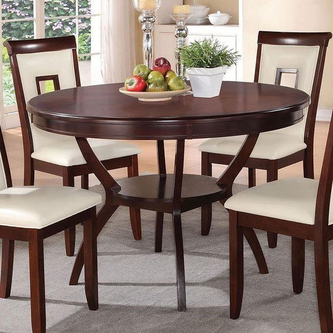 Oswell Round Dining Table