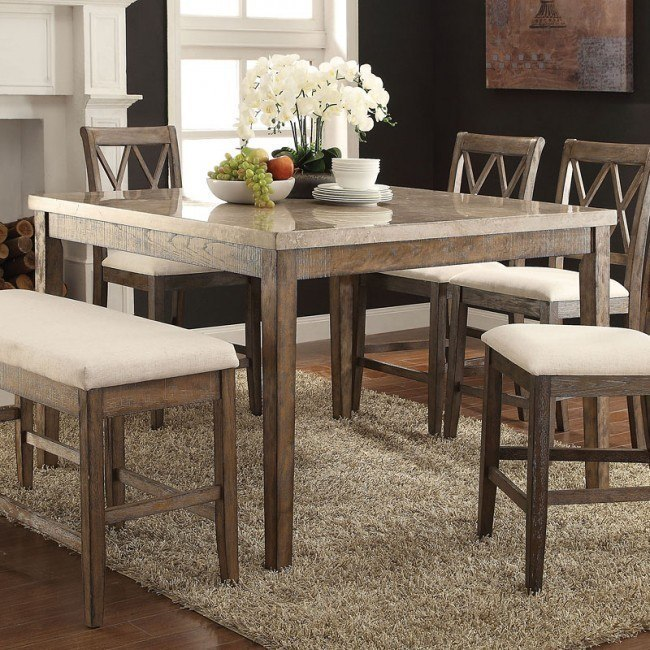 Claudia Counter Height Table