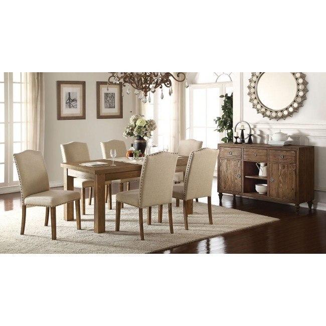 Parker Wooden Top Dining Room Set
