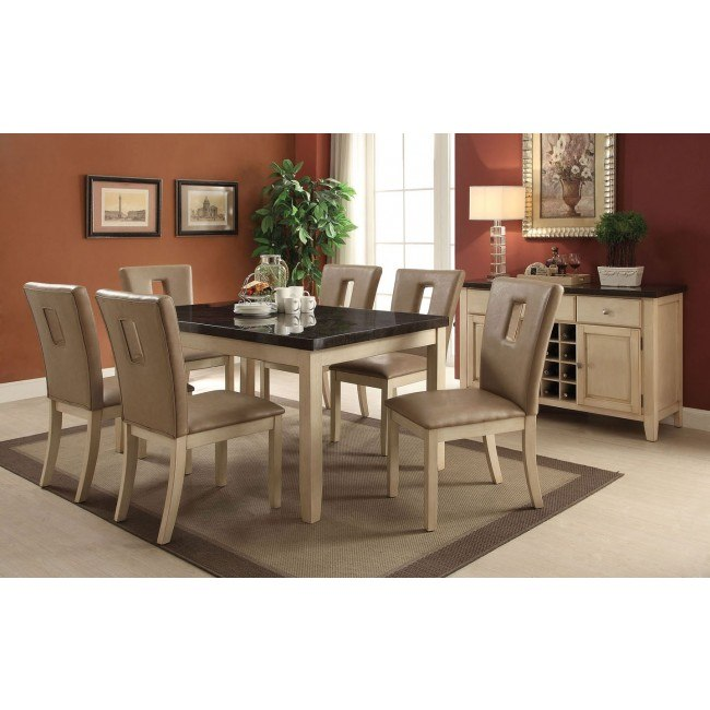 Faymoor Dining Room Set w/ Cut-Out Chairs
