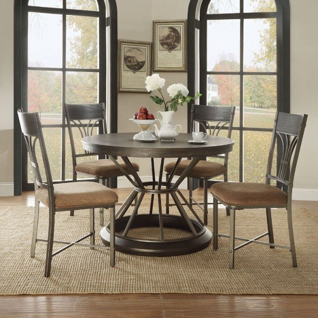 Kipp Round Dining Room Set