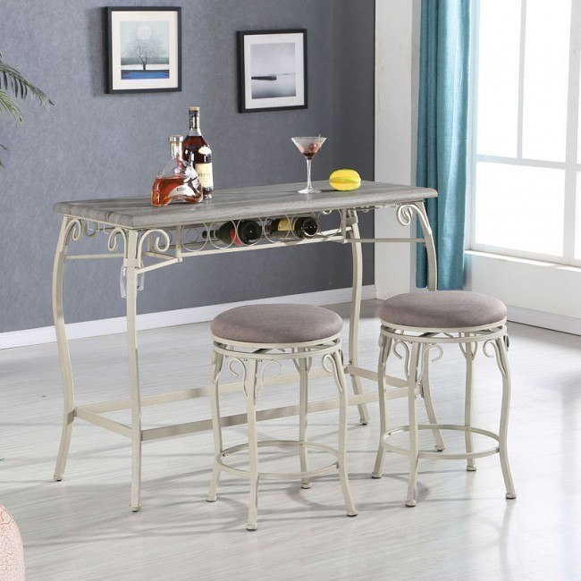 Irmeda 3-Piece Counter Height Dining Set