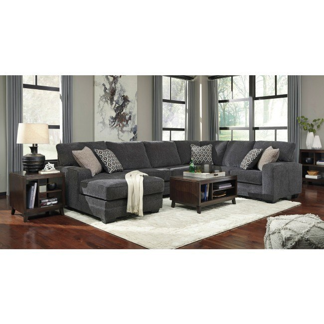 Tracling Slate Modular Sectional Set