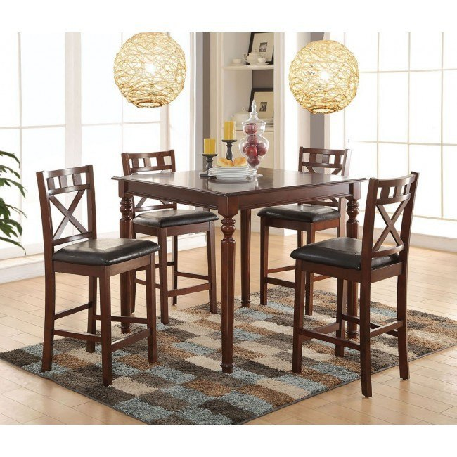 Weldon Counter Height Dining Room Set
