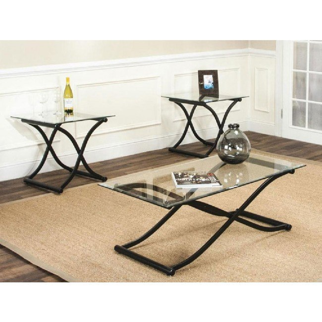 Zircon 3-Piece Occasional Table Set