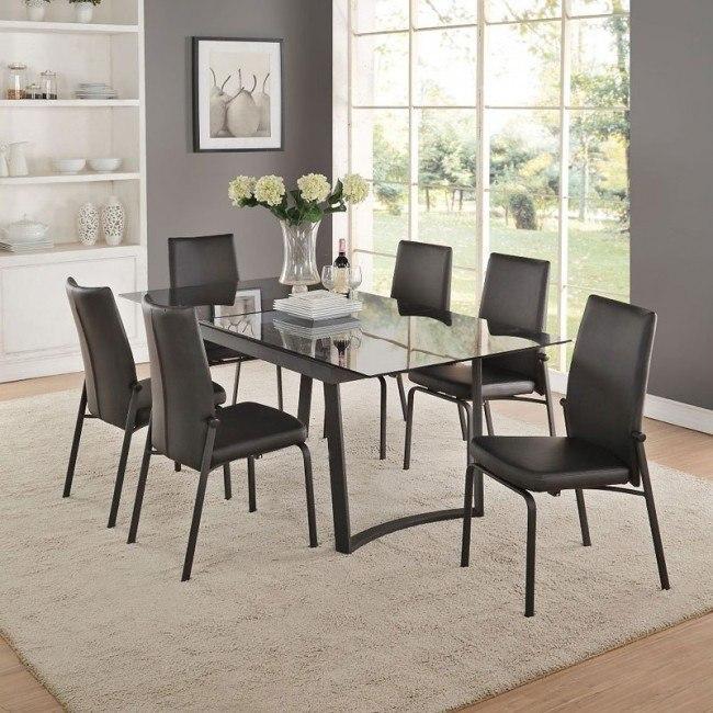 Osias Dining Room Set (Black)