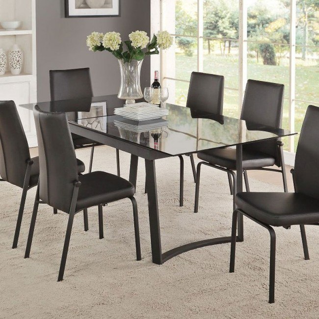 Osias Dining Table (Black)