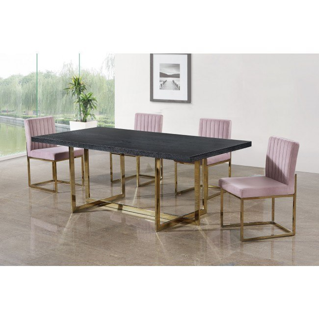 Elle Dining Room Set w/ Giselle Chairs