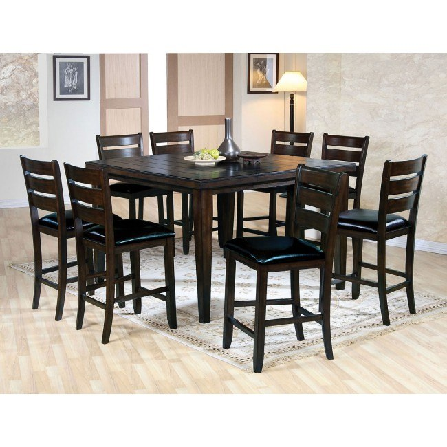 Urbana Counter Height Dining Room Set (Espresso)