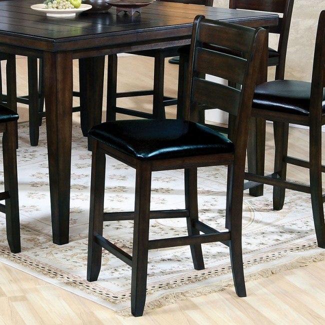 Urbana Counter Height Chair (Espresso) (Set of 2)