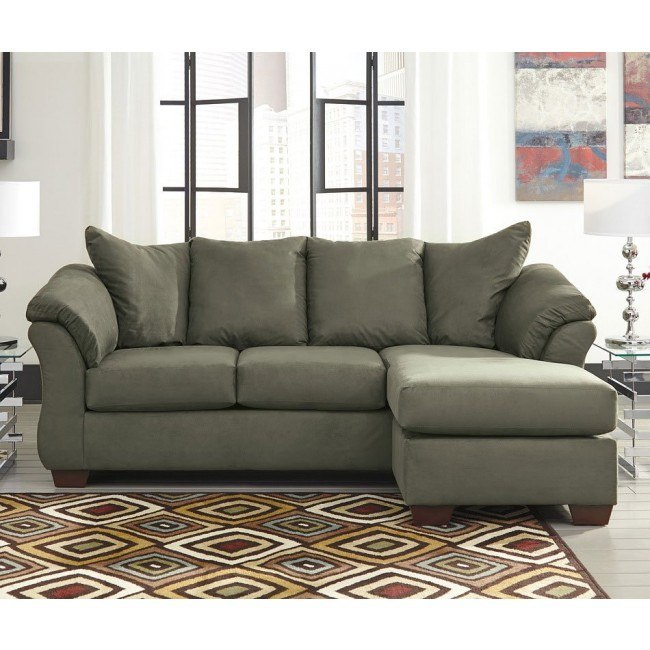 Darcy Sage Sofa Chaise