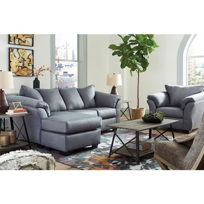 Admirable Darcy Steel Sofa Chaise Set Machost Co Dining Chair Design Ideas Machostcouk