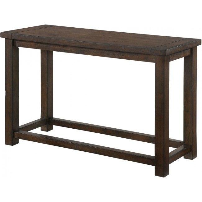 Warm Brown Sofa Table By Lane Furniture
