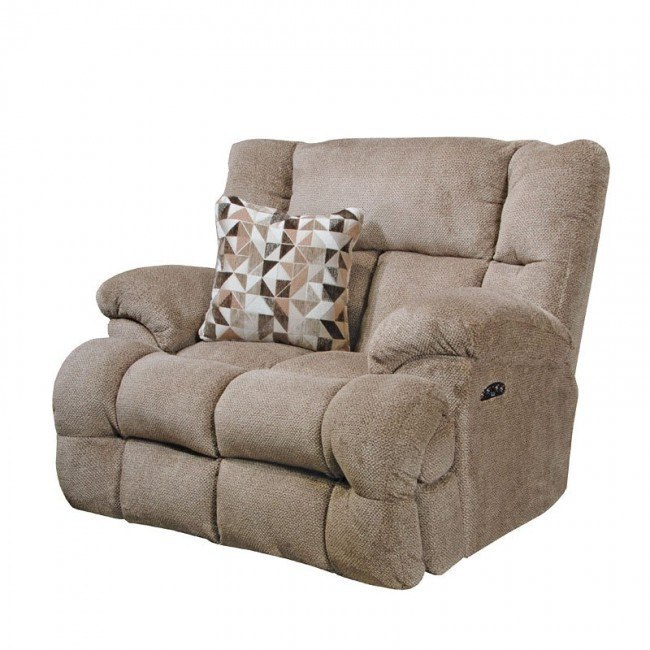 Brice Power Lay Flat Recliner w/ Power Headrest and Lumbar (Chateau)