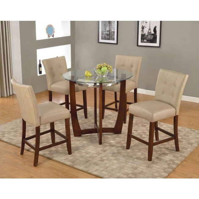 Baldwin Counter Height Dining Set w/ Britney Chairs