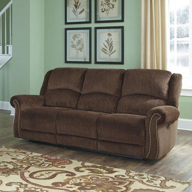 Pleasant Goodlow Chocolate Power Reclining Sofa Short Links Chair Design For Home Short Linksinfo