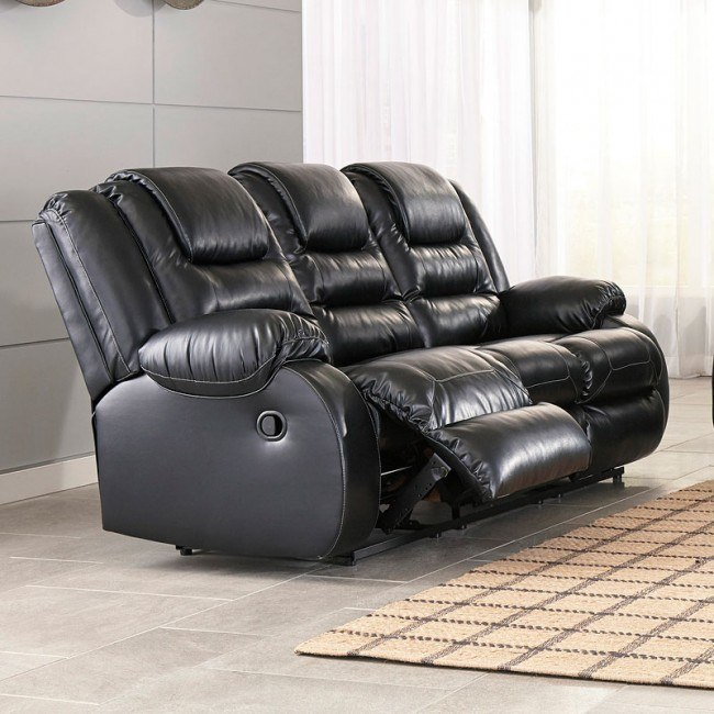 Miraculous Vacherie Black Reclining Sofa Gmtry Best Dining Table And Chair Ideas Images Gmtryco