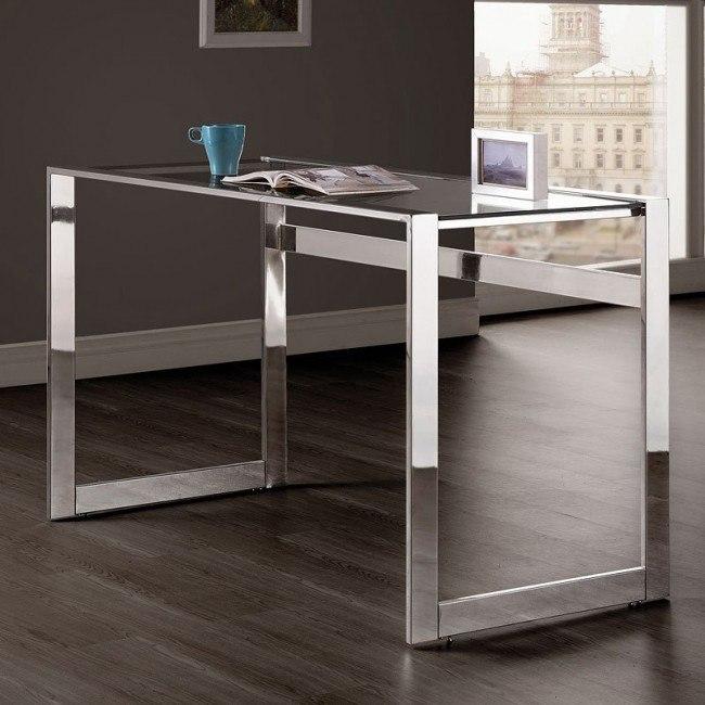 Chrome Frame Writing Desk
