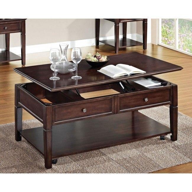 Malachi Coffee Table w/ Lift Top