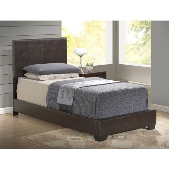 8103 Youth Upholstered Bed (Brown)