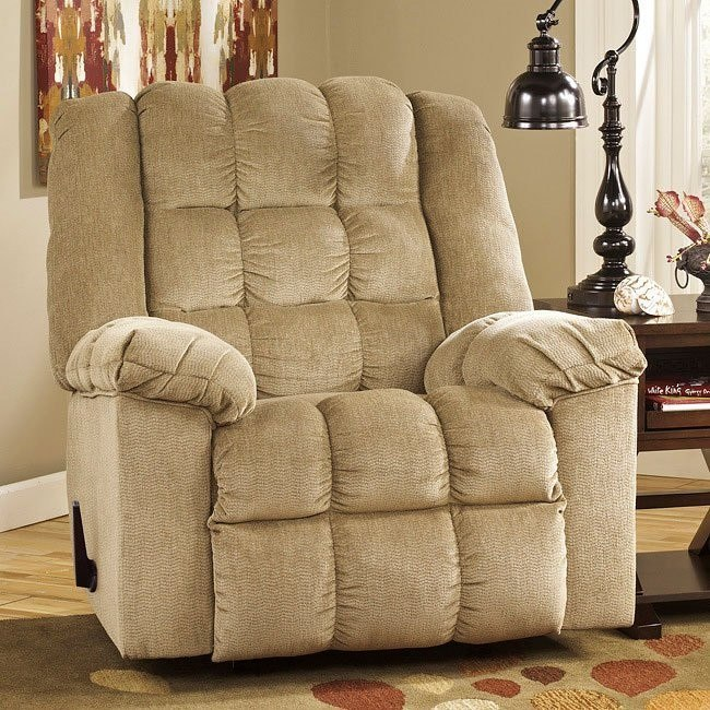 Ludden Sand Rocker Recliner By Signature Design By Ashley