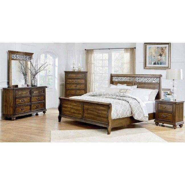 Monterey Sleigh Bedroom Set