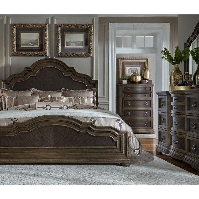 Valley Springs Panel Bedroom Set
