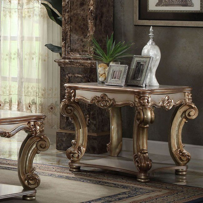 Vendome End Table (Gold Patina)