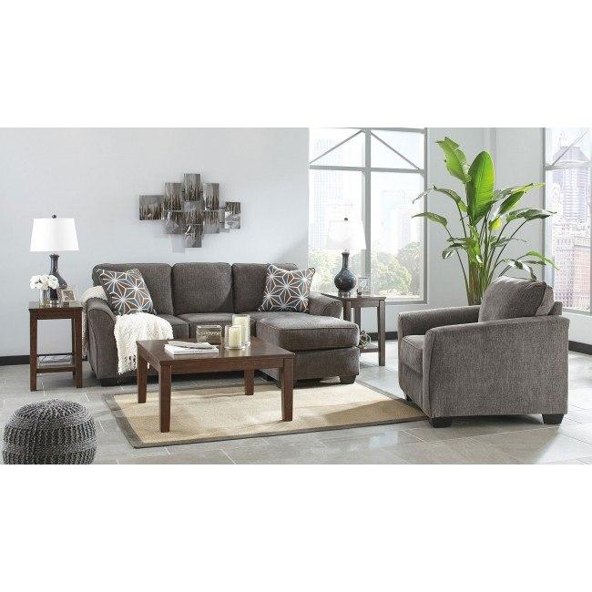 Brise Slate Living Room Set