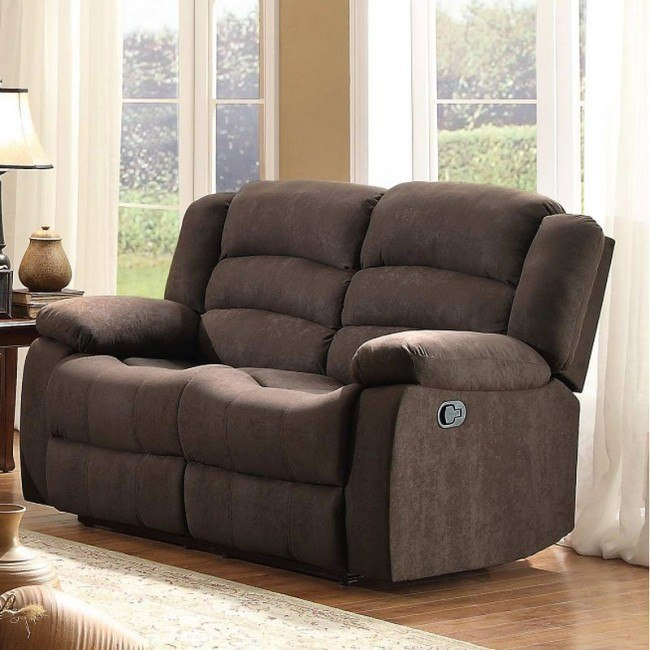 Greenville Double Reclining Loveseat (Chocolate)