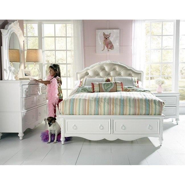 SweetHeart Princess Bedroom Set W/ Storage Bed By Samuel